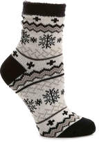 Sof Sole Women's Snowflake Women's Slipper Socks