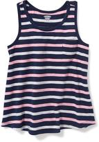 Old Navy Striped Racerback Swing Tank for Toddler