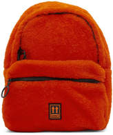 Off White Off-White Red Sherpa Mini Backpack