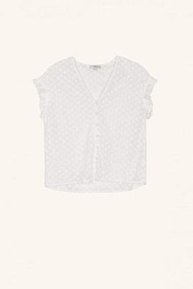 FRNCH Colomba F 10809 Top White - S