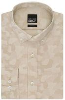 William Rast Slim Fit Camouflage Dress Shirt