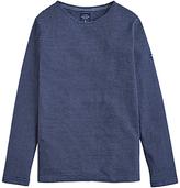 Joules Breton Stripe Long Sleeve T-shirt, Indigo