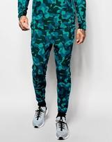 Nike Tech Fleece Skinny Joggers In Blue 823499-301