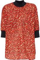 By Malene Birger Printed Cotton-Gauze Top