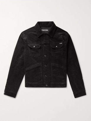 Tom Ford Cotton-Blend Corduroy Trucker Jacket