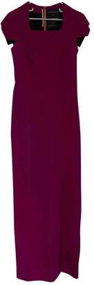 Roland Mouret Purple Wool Dress for Women