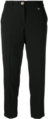 Versace Jeans Couture Cropped Tailored Trousers