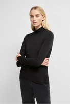 French Connection Venitia Jersey Roll Neck Top
