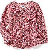 Old Navy Floral Tunic for Toddler