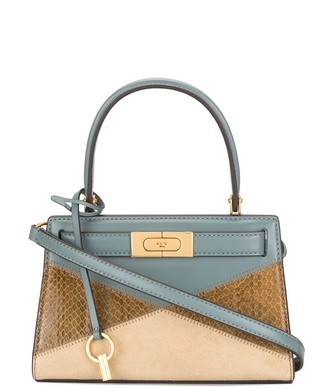 Tory Burch Lee patchwork leather mini tote bag