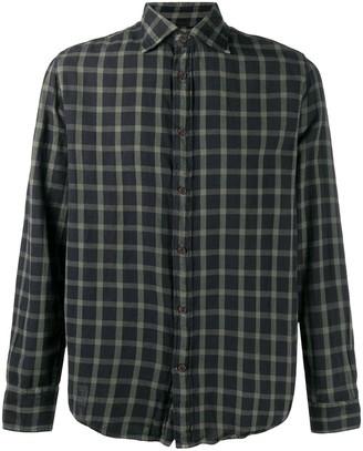 Deperlu Thomas checked cotton shirt