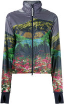 adidas by Stella McCartney Run mountain print jacket - women - Recycled Polyester - S