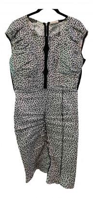 Nina Ricci White Linen Dresses