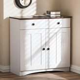 Baxton Studio Lauren Modern and Contemporary Two-tone Buffet