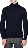 Reiss Caine Slim Fit Turtleneck Wool Sweater