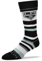 Unbranded Women's For Bare Feet Los Angeles Kings Soft Stripe Quarter-Length Socks