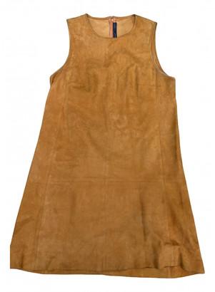 Balenciaga Camel Suede Dresses