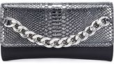 Thomas Wylde chain detail clutch - women - Lamb Skin - One Size