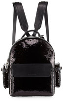 Buscemi PHD Sequined Backpack, Black