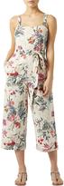 Monsoon Alani Linen Printed Jumpsuit