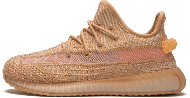 Adidas Yeezy Boost 350 V2 Kids 'CLAY' Shoes - Size 11K