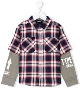 Diesel layered shirt