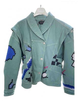 Isabel Marant Green Denim - Jeans Jackets