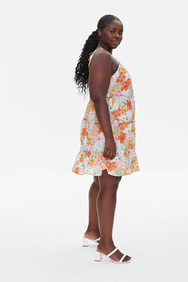 Forever 21 Plus Size Tropical Floral Dress