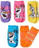 Disney Disney's Frozen Olaf Girls 5-pk. No-Show Socks