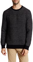 Kenneth Cole New York Long Sleeve Crewneck Waffle Pullover