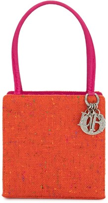 Christian Dior pre-owned embroidered Lady tote bag