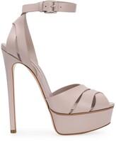 Casadei 150mm open toe platform sandals