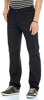 Calvin Klein Cavalry Straight-Fit Flat-Front Twill Pants