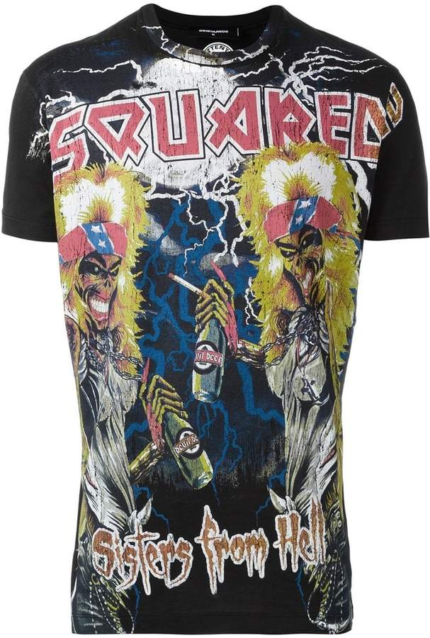 DSQUARED2 Sisters from Hell T-shirt