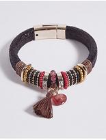M&S Collection Wrap Tassel Bracelet