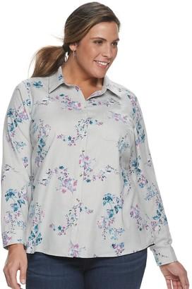 Croft & Barrow Plus Size Core Flannel