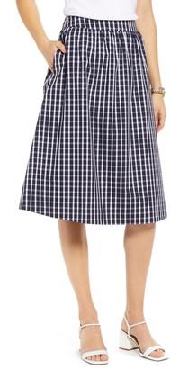 1901 Check Pull-On Skirt