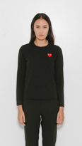 """Comme des Garcons """" Play Long Sleeve T-Shirt"""