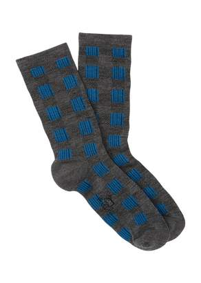 Woolrich Buffalo Check Crew Socks