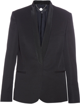 Stella McCartney Shawl-lapel single-breasted tuxedo jacket