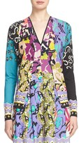 Etro Women's 'Floral Patchwork' Silk & Cashmere Cardigan