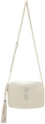 Saint Laurent Off-White Lou Camera Bag