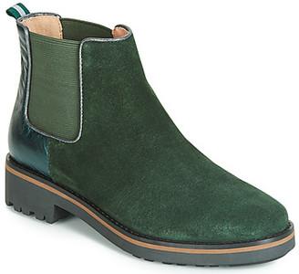 Karston ONKIX women's Mid Boots in Green