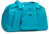 Lug Teal Quilted-Accent Propeller Duffel Bag