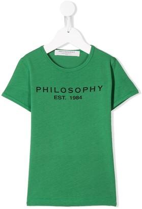 Philosophy Di Lorenzo Serafini Kids Logo Patch Sweatshirt