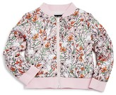 Bardot Junior Girls' Reversible Bunny Bomber Jacket - Baby