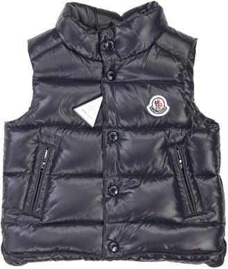 Moncler Bernard Blue Vests