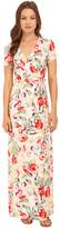 Brigitte Bailey Armelle Short Sleeve Wrap Dress