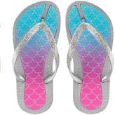 Elli By Capelli Girls 4-16 Elli by Capelli Mermaid Ombre Jelly Flip Flops