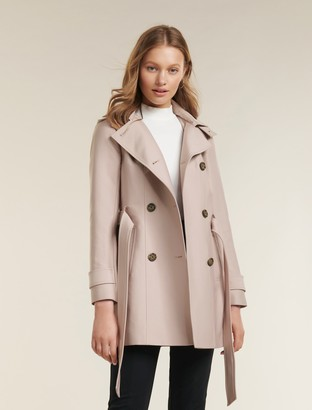 Forever New Sara Trench Coat - Pink - 4